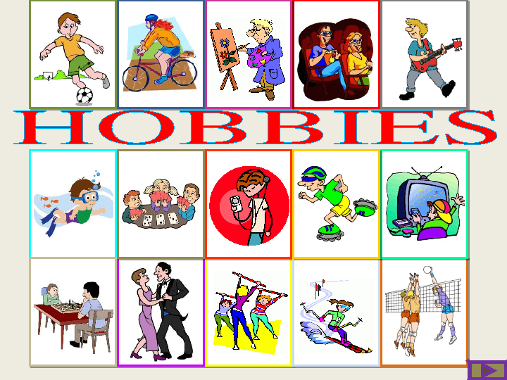 image of different hobbies