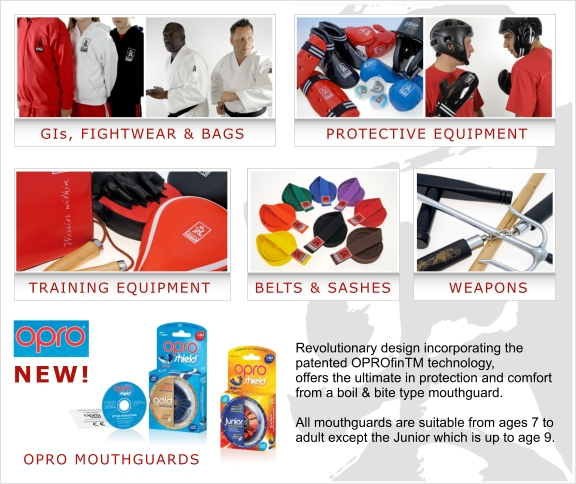 martial arts equipment overview