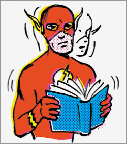 The flash speed reading