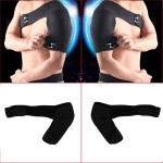 Sports Magnetic Single Shoulder Brace Support Strap Wrap Belt Band Pad Shoulder Care Bandage for Left Shoulder Black