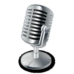 Microphone logo A